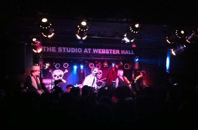 Green Day, Webster Hall Studio