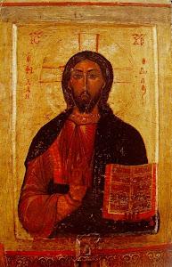 Εικόνα Χριστού του Φιλανθρώπου (1170 μ.Χ). Μονή Αγίου Νεοφύτου