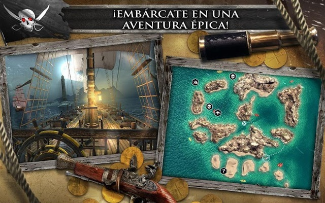 Assassin's Creed Pirates Juego para Android