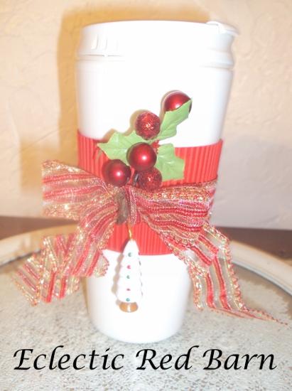 Travel Mug Gift and Stocking Tag Printable