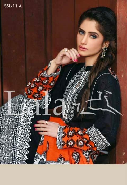 sana samia spring lawn collection by lala 5