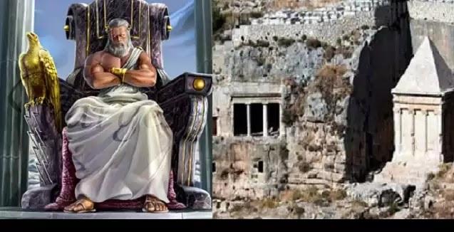 Τα (ιερό)ΣΟΛΥΜΑ  Ιεροσόλυμα ηταν Ελληνικά με Ναό στον Θεό Δία !