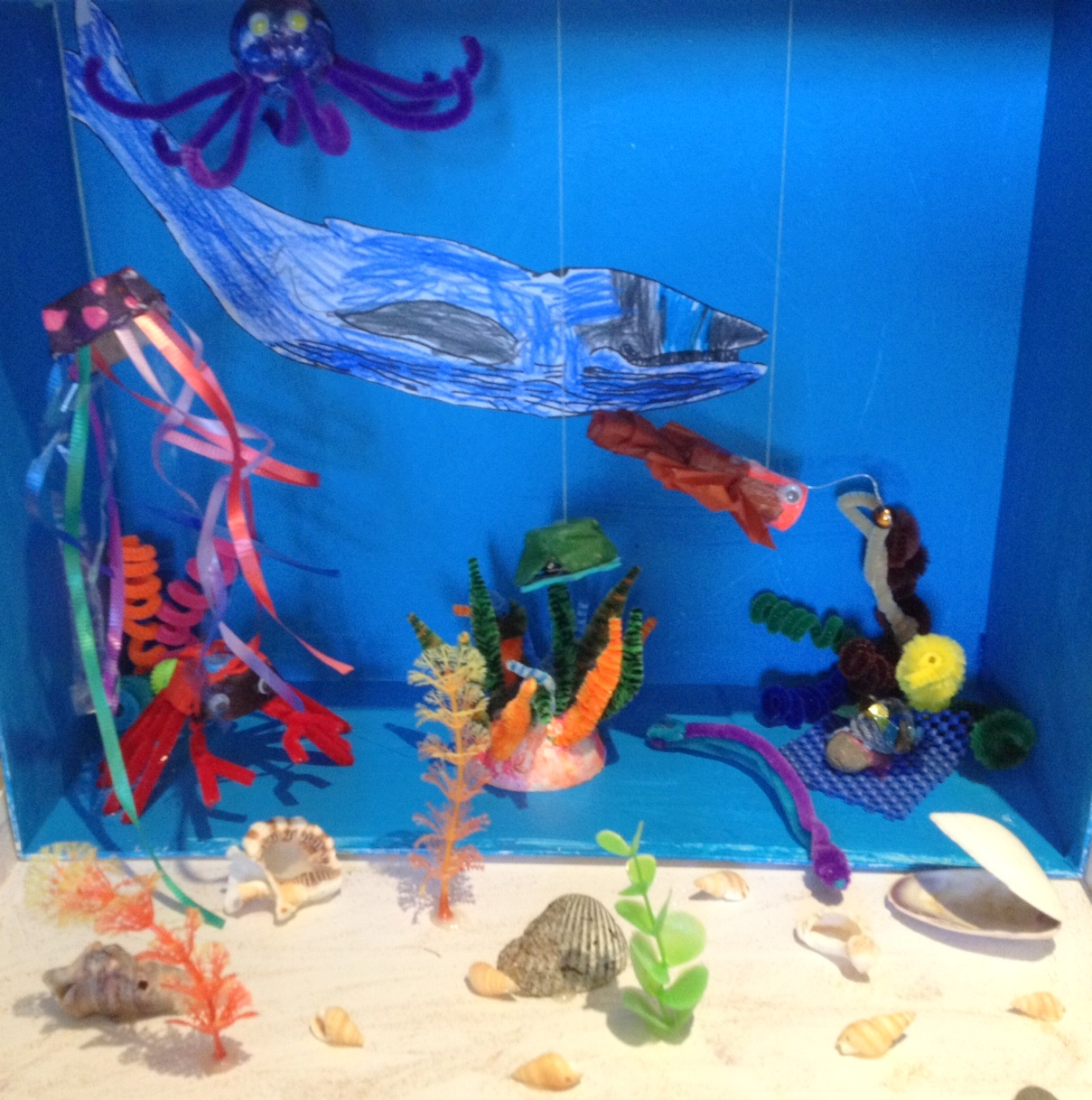 top ocean habitat diorama - photo #7