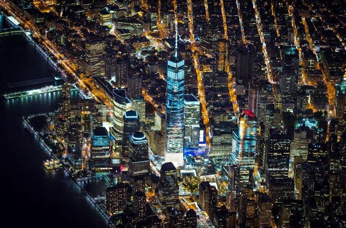 New York City Arial View Pics