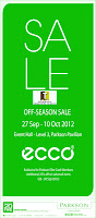 ECCO Off-Season Sale 2012