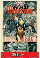 Savage Wolverine #3 Cover