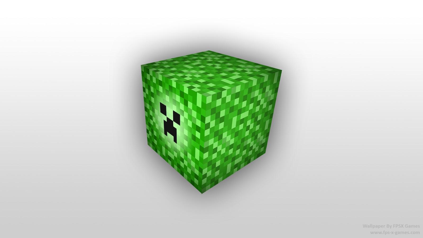 Minecraft creeper block wallpaper