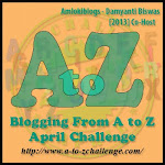 Co-hosting A to Z Challenge 2013!