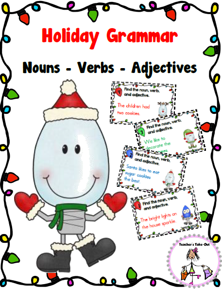 Free Holiday Grammar
