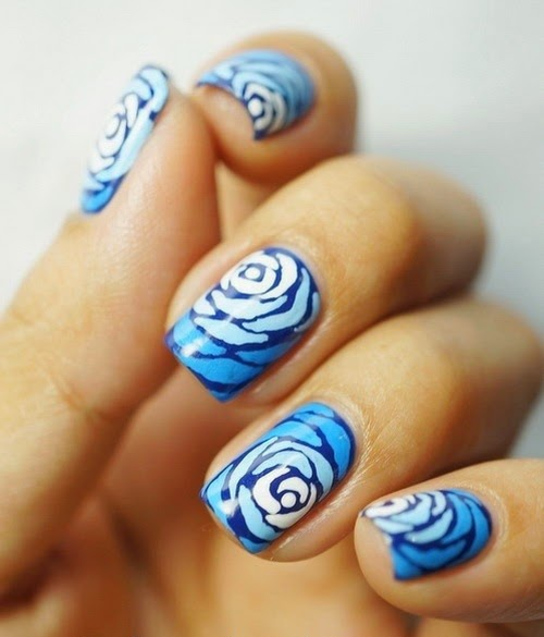 Awesome Flowers Nail Design Ideas 2015 - 2015 Best Nails Design Ideas