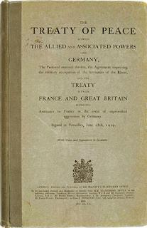 4 Isi Perjanjian Versailles Terlengkap