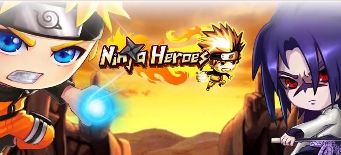 Dapat Ninja Rank S Ninja Heroes Update Terbaru