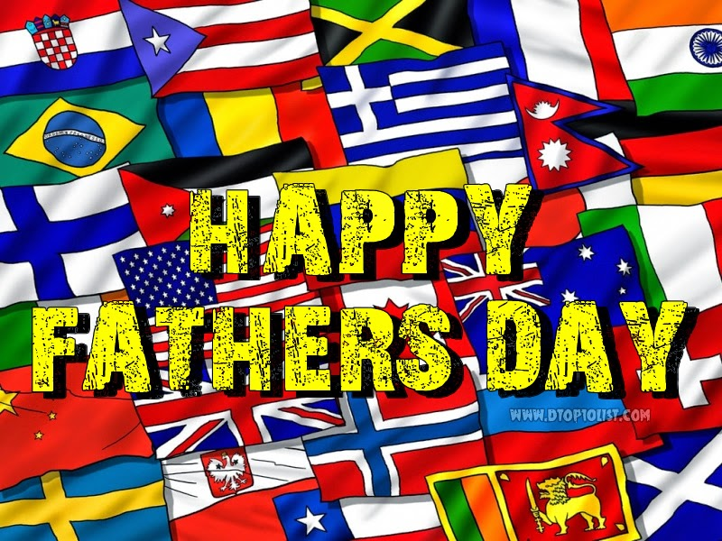 75 different countries celebrating Father's Day during the 3rd Sunday of the month of June.