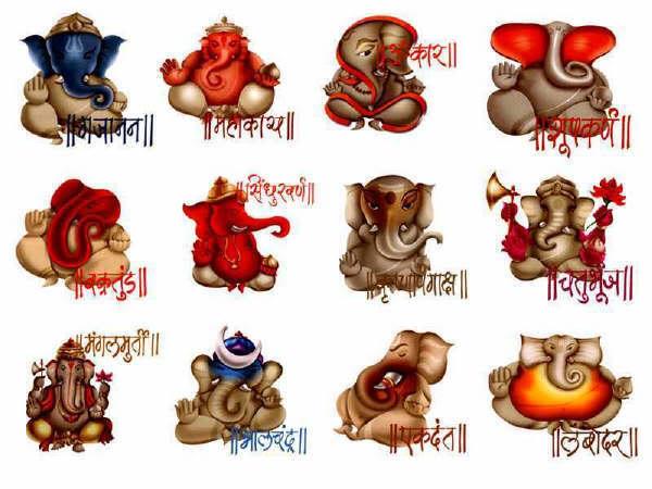 ganpati names