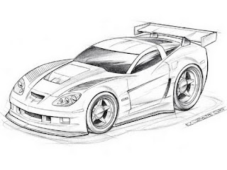 How To Draw Simple Cars Fast Sports Cars Hot Wheels
