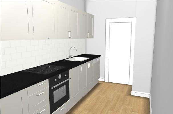 Vintage chic: Oppgradering av kjøkken/ Updating our kitchen