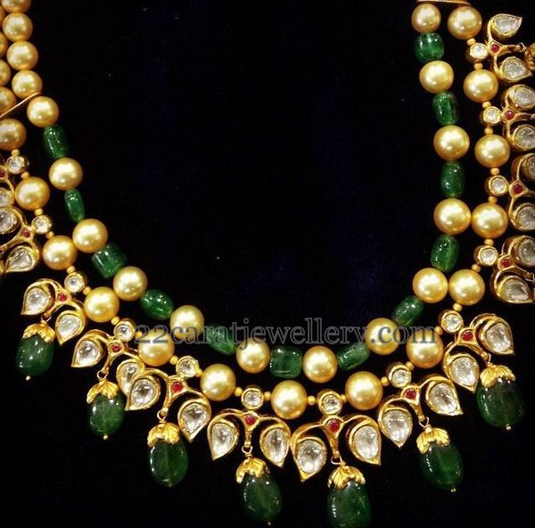 Pearls Kundan Beads Sets