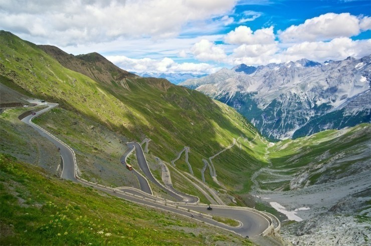 25. The Stelvio Pass in the Alps - 29 Amazing Places in Italy