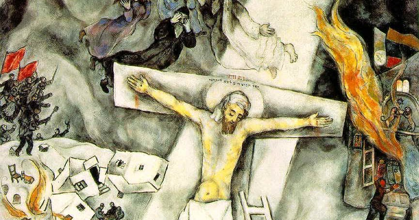 Documenta: The White Crucifixion Crucifixion Marc Chagall