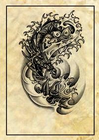 dragon tattoos,beast tattoos,creature tattoos,medieval tattoos,monster tattoos,mythology tattoos,powerful tattoos,fantasy tattoos,japanese tattoos,asian tattoos,oriental tattoos,chinese tattoos