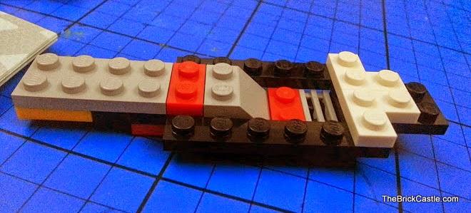 LEGO Speed Champions McLaren P1 set 75909 base of vehicle