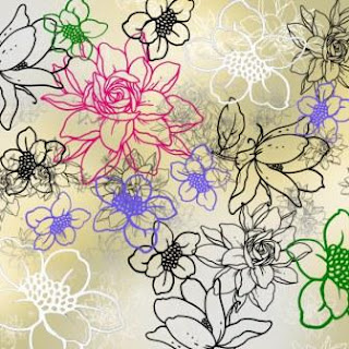 Flowers Outline Brushes Plugins Adobe Photoshop