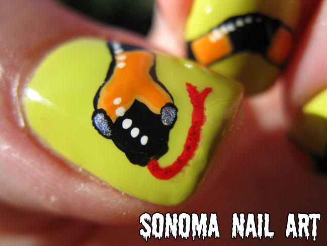 Sonoma Nail Art: 31 Day Nail Art Challenge: Animal Print Nails
