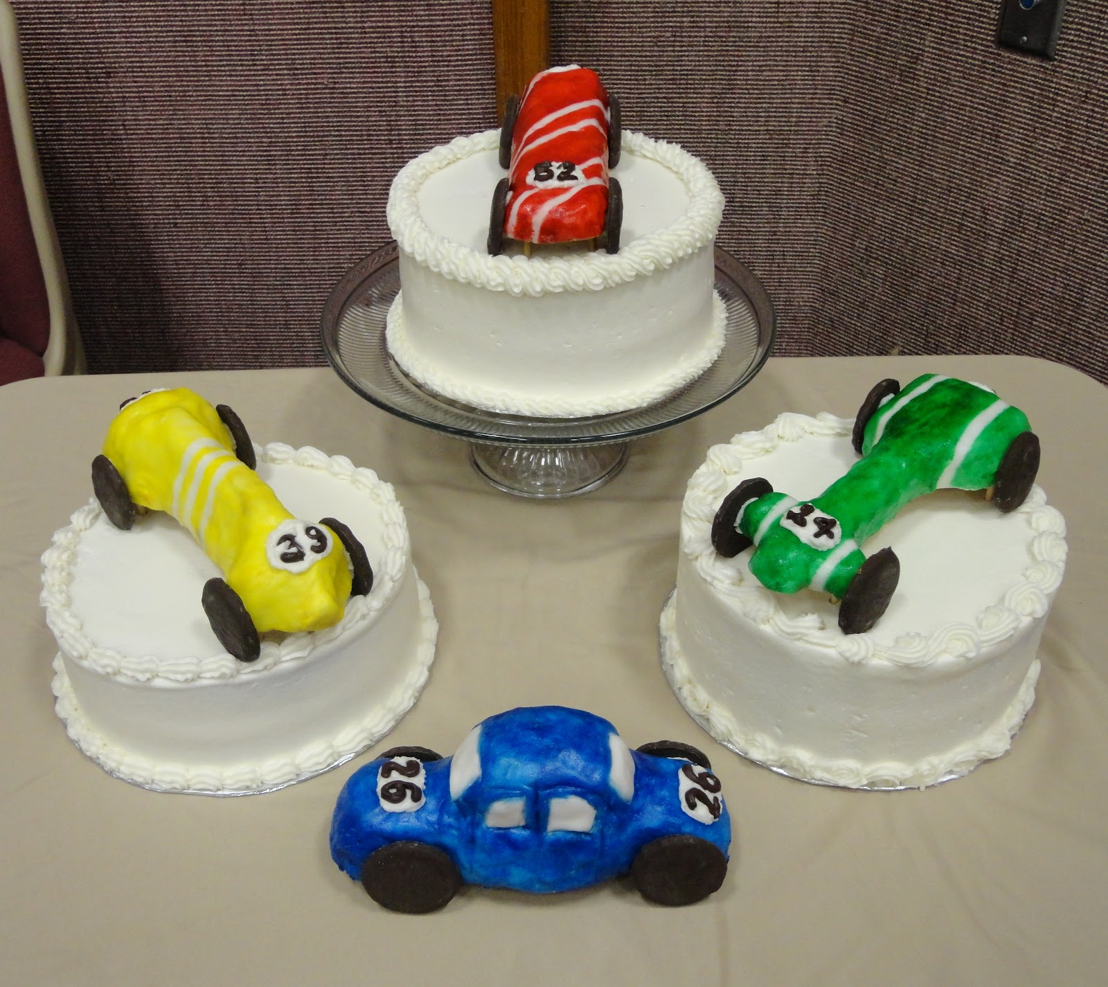 Pinewood Derby Cake Decorating Ideas