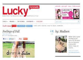 Lucky Magazine Contributor