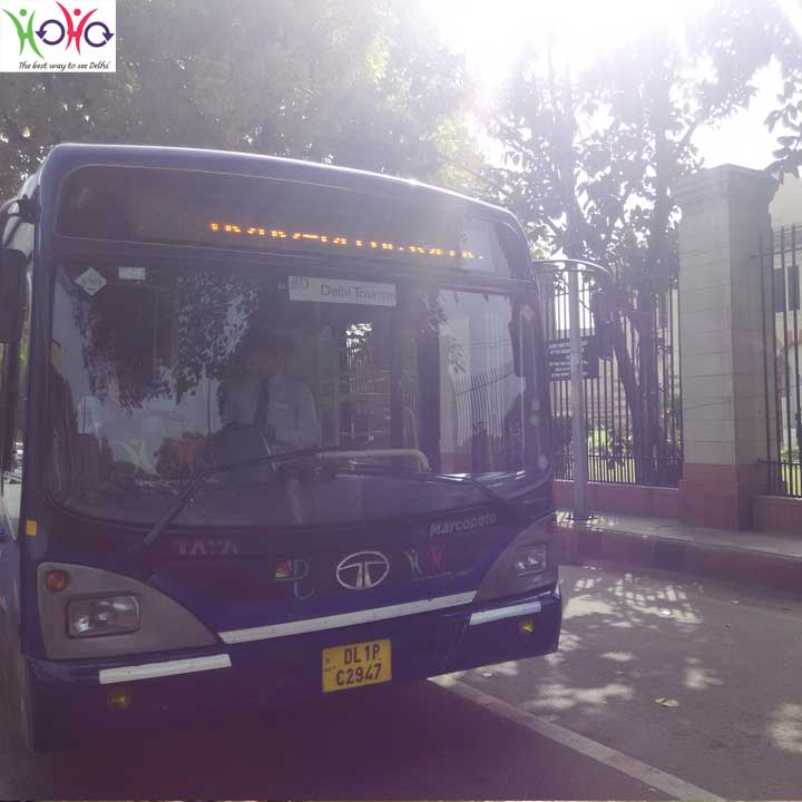 hoho bus at ngma delhi