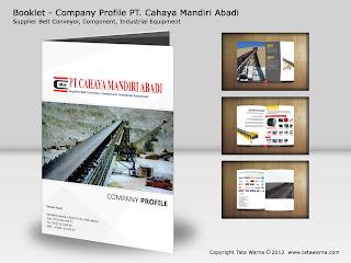 daftar pendukung : Aneka Desain Company Profile Perusahaan Furniture