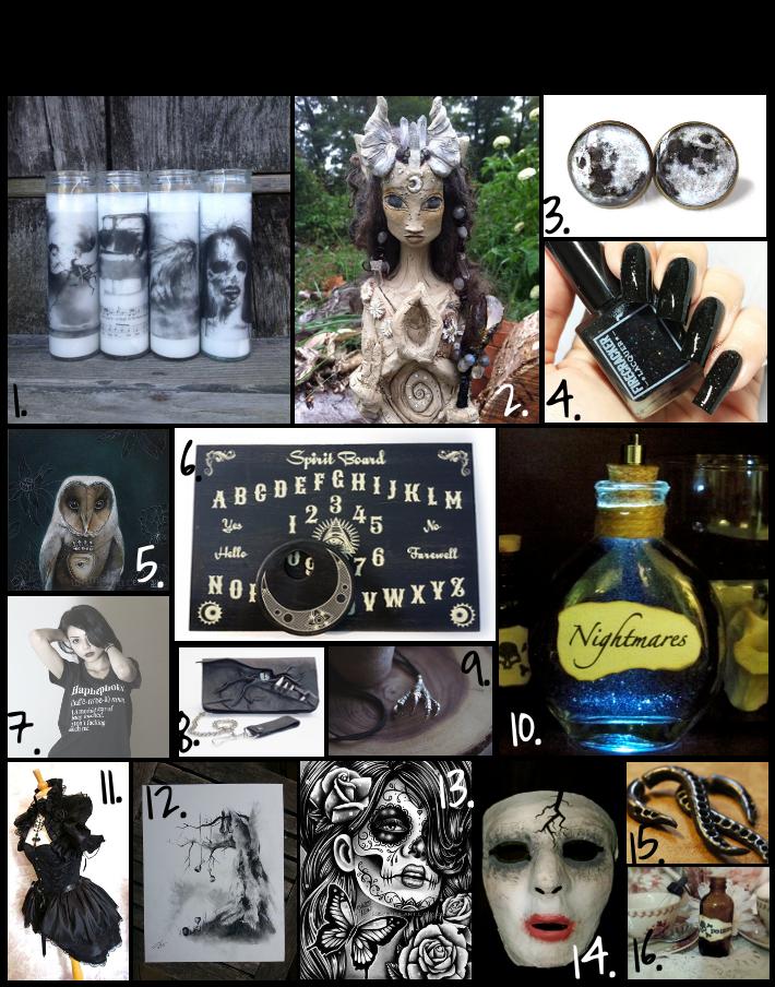 Handmade Love: The Dark Stuff