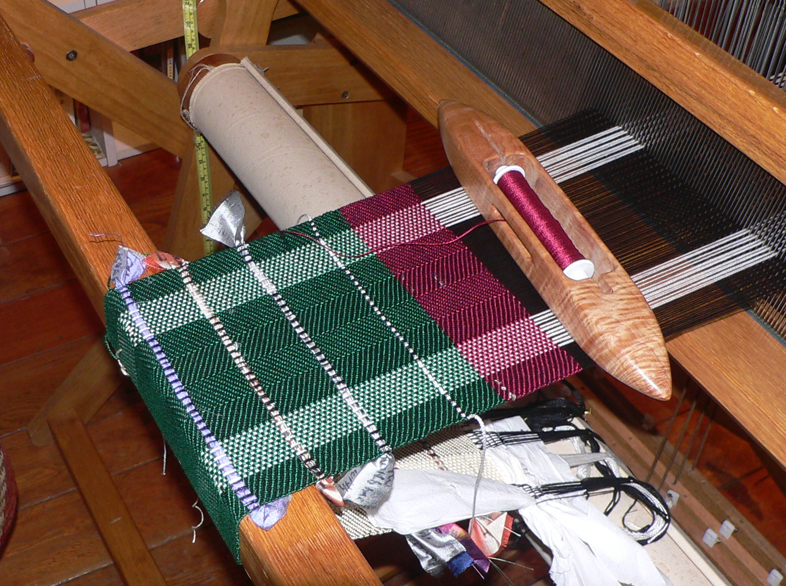 Basket Weave Table Runner Pattern : Camp runamuck the great indoors
