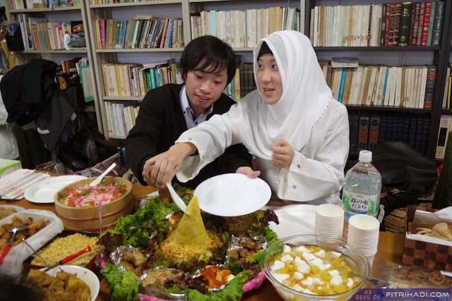 (Gambar) Perkahwinan Lebih Islamik Oleh Mualaf di Jepun