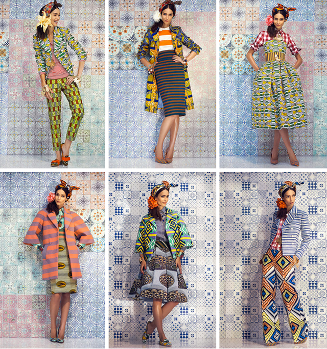 STELLA JEAN SPRING/SUMMER 2014 READY-TO-WEAR -how-to wear prints