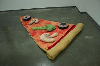 Tempat Tidur Unik Berbentuk Pizza