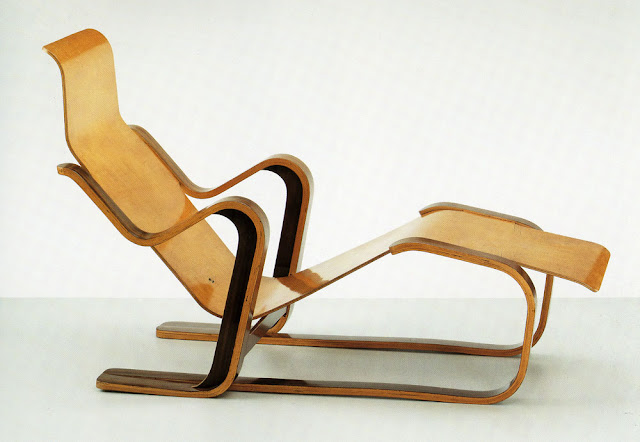 Isokon Long Chair is a chair designed by Marcel Breuer for the Isokon company in 1935-36