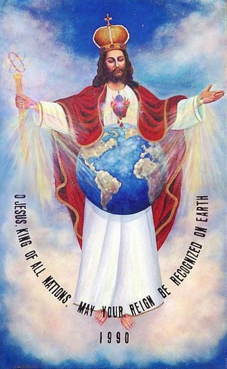 JESUCRISTO REY DE TODAS LAS NACIONES