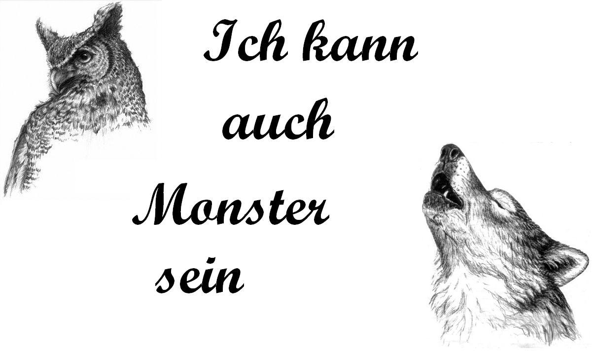 Ich kann auch Monster sein