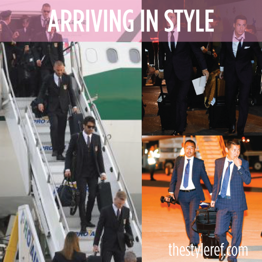 National soccer teams land in Brazil in style