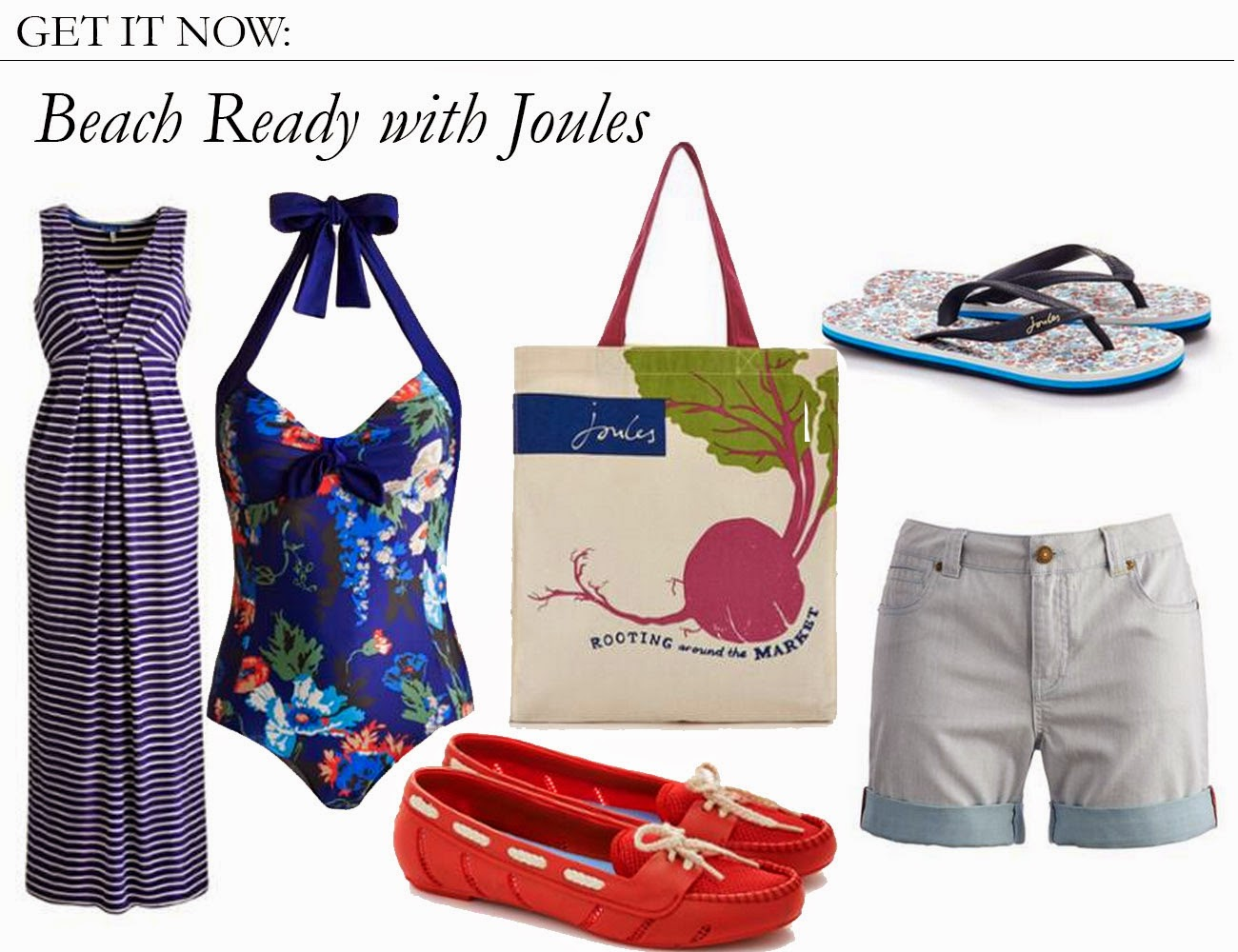 Get It Now: Beach Ready with Joules