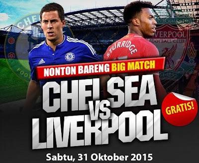 acara nonton bareng big match: chelsea vs liverpool