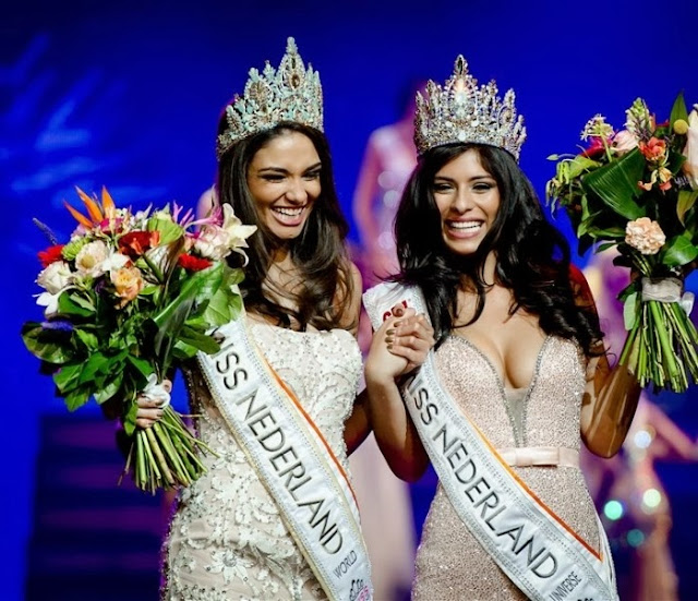 Miss Netherlands Nederland Universe World is Tatjana Maul & Yasmin Verheijen