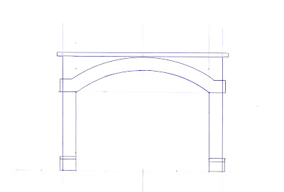 Template for dual tunnel portal