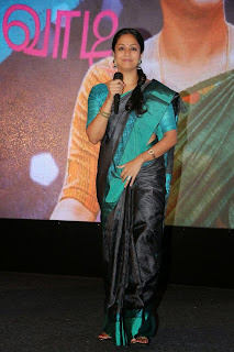 Actress Jyothika Latest Pictures in Green Saree at 36 Vayathinile Audio Launch  3