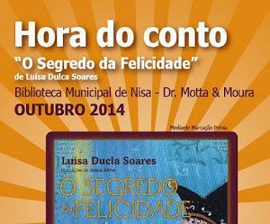 "NISA: BIBLIOTECA MUNICIPAL PROMOVE ""HORA DO CONTO"""