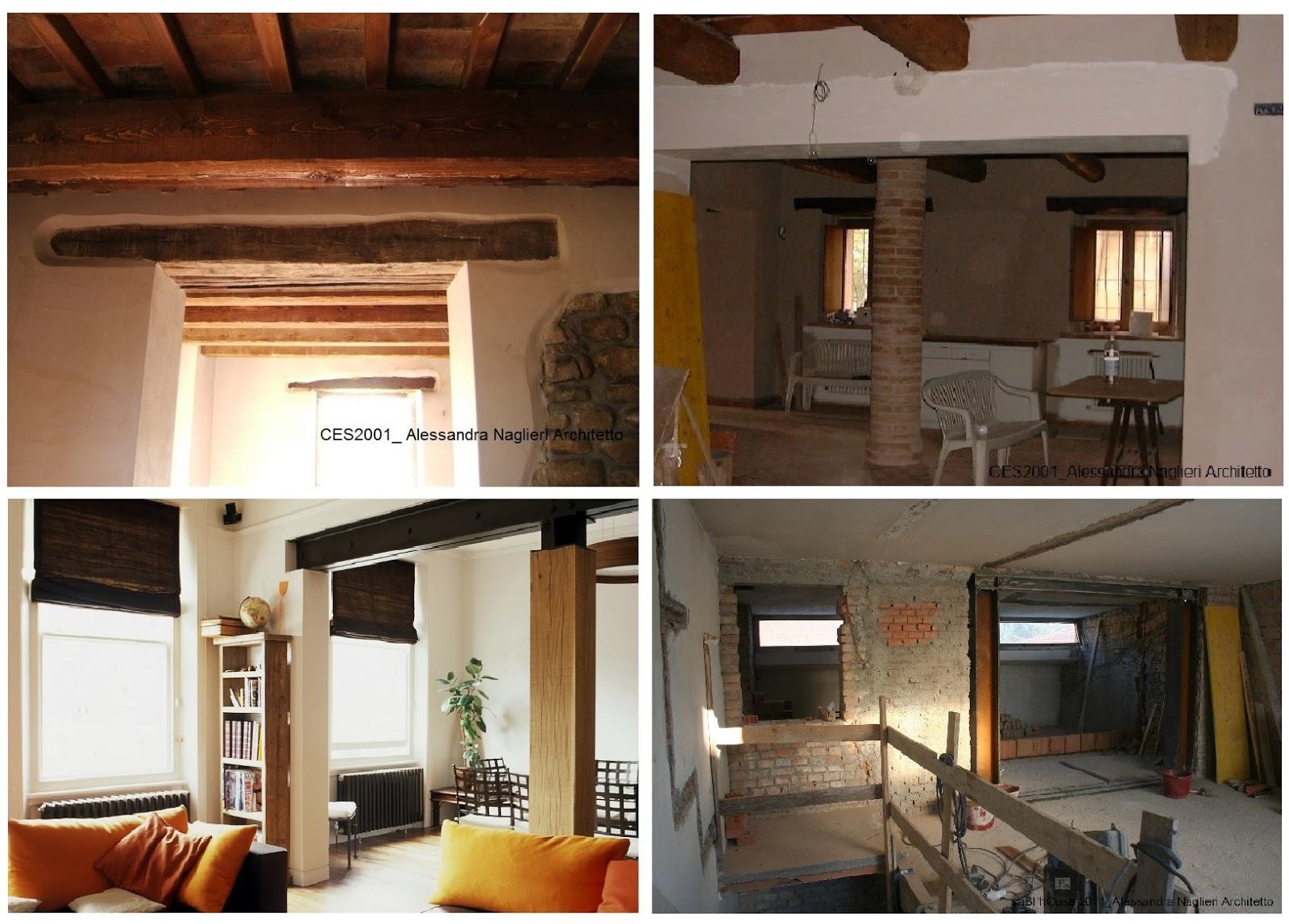 Sabi house portale in acciaio nella muratura portante - Casa in muratura portante ...