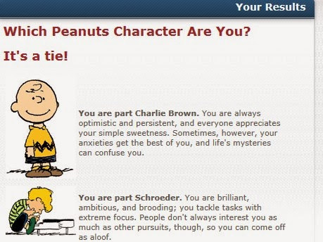 what peanuts character am i