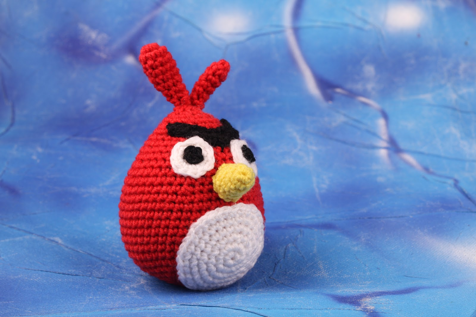 Crochet Amigurumi Red Angry Birds manal311
