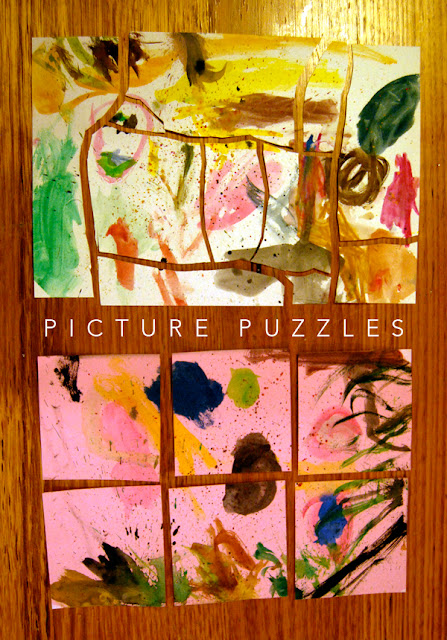 homemade picture puzzle